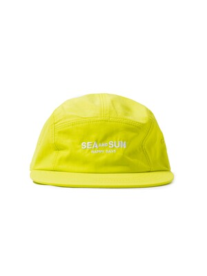 S&S HAPPY DAYS CAMP CAP (LIME)