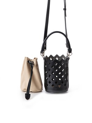 MAJORELLE BAG _MINI_ BLACK