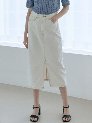 Off-White Denim Skirt SJ1SS137-01
