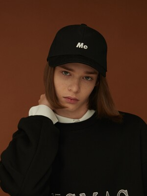 37 BASIC BALLCAP BLACK