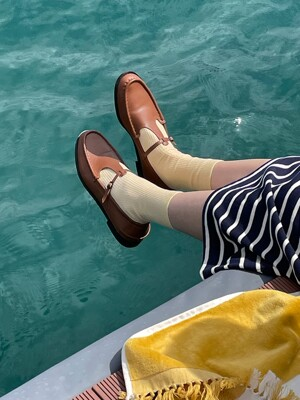 OLLE Leather loafer (3color)