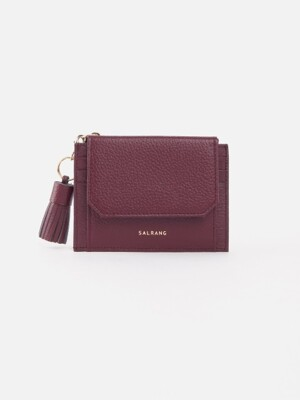 Reims 303S Cover card Wallet burgundy