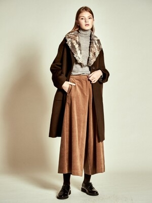 Tailored Wool Coat_ Khaki