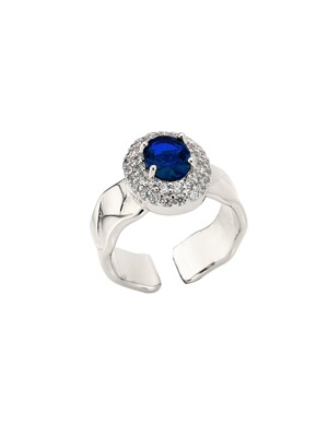 Jewel Romania Quilting Ring (Sapphire)