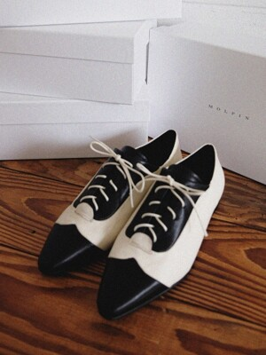 combi lace-up loafer