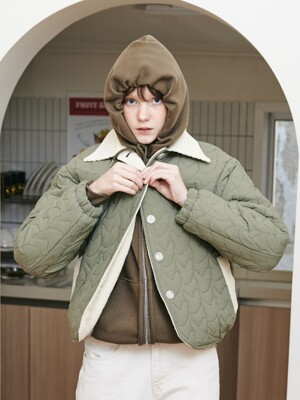 FENNEC FOX PADDING JACKET [KHAKI]