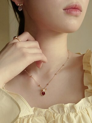 [단독]Lovable Pearl Necklace M  (3COLOR)