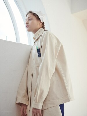 BILL'S WORKMAN JACKET cream
