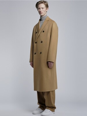 Semi Over Double Handmade Coat_Beige