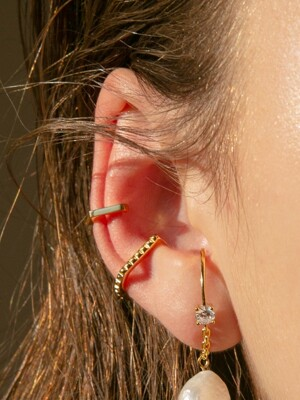 stud earcuff (2colors)