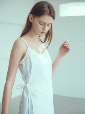 20SN sleeveless layered blouse [WH]