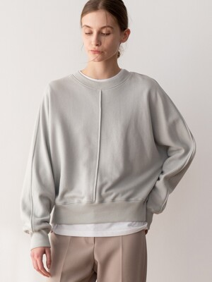 COTTON SWEAT SHIRT (GRAY)