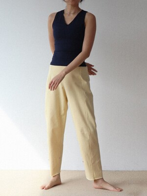Button Point pants-2colors