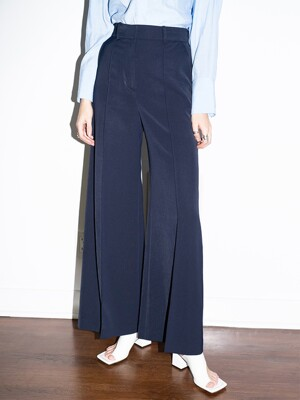 [20SS]IRVINE wide trousers (Navy)