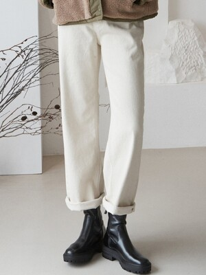 [By Joorti] J560 wide jean (ivory)