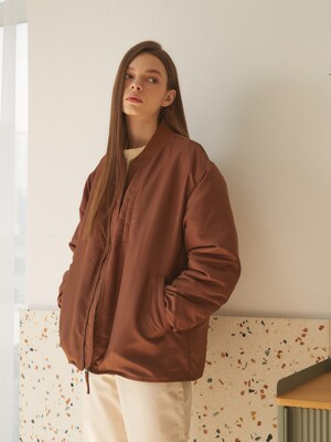 CITY MA-1 JACKET_BROWN