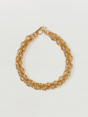 SODA Cable Chain Necklace - Gold