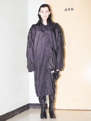 ERROR_ OVERSIZED RAINCOAT