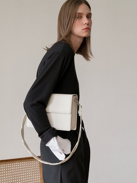 Nouer Square Bag_IVORY