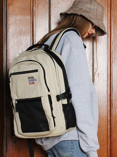 SSC SQUARE BACKPACK (BEIGE)