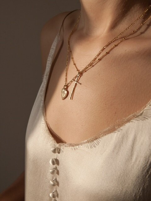 Cross Ball Necklace