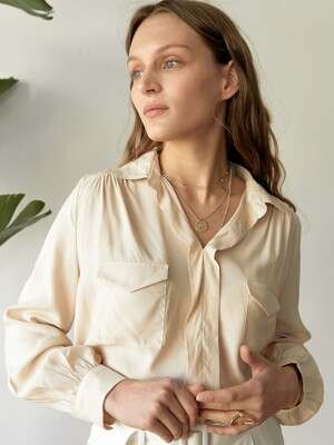 ESTELLA BLOUSE CREAM