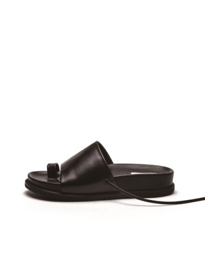 2 way Flat Sandal - black