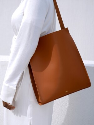 Shopper bag (brown)