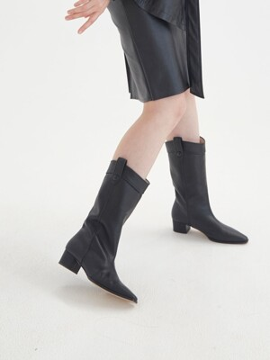 ML western boots / black