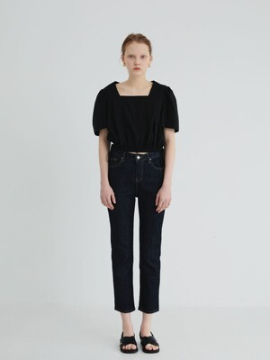 20' SPRING_Indigo High-Rise Ankle Jeans