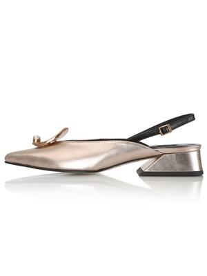 Zizi Sling-Backs / YS8-S354 Rose Gold Shimmer