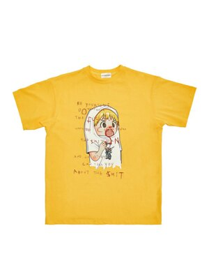 Lipstick tee_Yellow