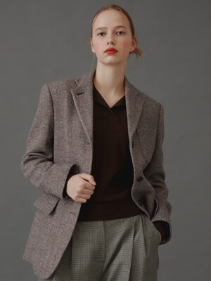 Andersson 3-Button Jacket_Brown