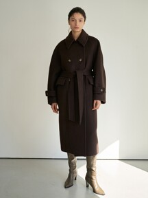 TTW CASHMERE DOUBLE WOOL COAT 2COLOR