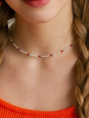 cherry point pearl choker necklace
