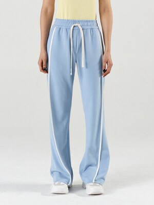 Lounge Flare Pants Sky Blue