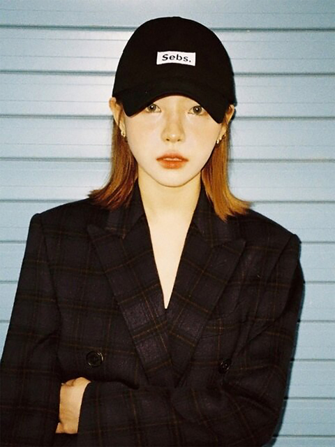 COTTON_BALL CAP_BLACK