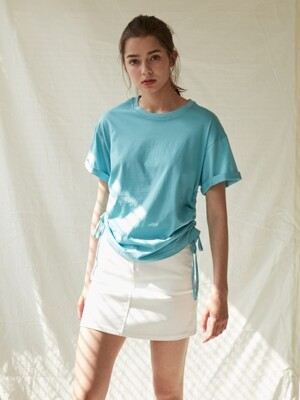 String T-shirts_Blue