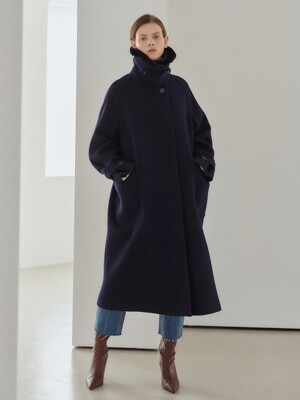 19WN single raglan coat [NA]