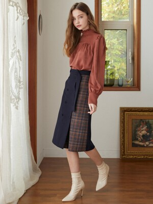double check p wool skirt NA