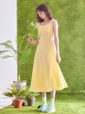 Strap Roco Dress [Yellow]