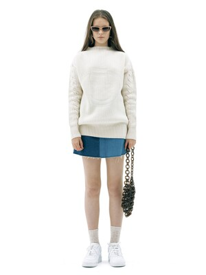 SMILE CABLE WOOL KNIT TOP_WHITE (EETZ3NTR06W)