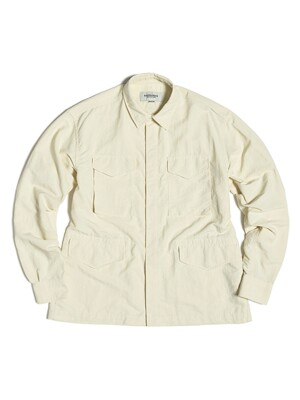 M65 SHIRT / OFF WHITE NYLON WASHER