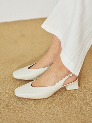 BLP21215 WAVE SLINGBACK/4COLORS