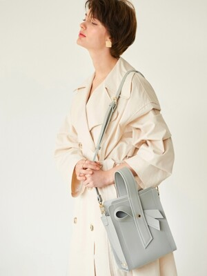 Bow bag_Cool gray