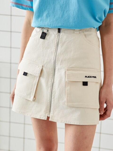 CARGO SKIRT (2COLOR)