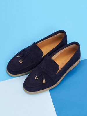 Rest Loafer R19W072 (Royal Navy Suede)