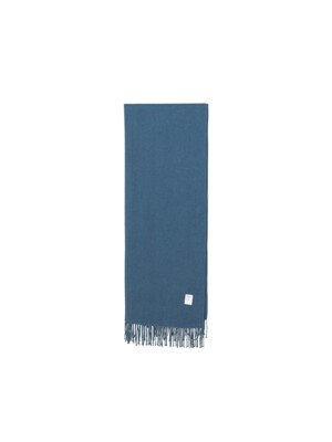 247 VIRGIN WOOL MUFFLER [AQUA BLUE]