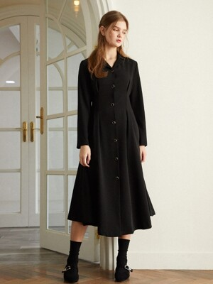 Juliet Long Dress_Black