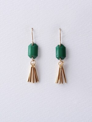 Acrylic Tassel Earrings